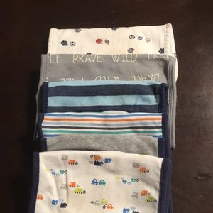 Lot of 6 burp cloths